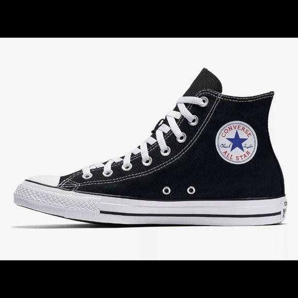 8cd679ec9843d8 Converse all-star black chuck Taylor hi top M9160